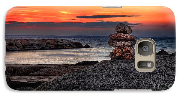 Galaxy Case featuring the photograph Beach Zen by Mark Miller