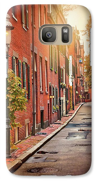 Galaxy Case featuring the photograph Beacon Hill Area Of Boston  by Carol Japp