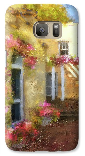 Galaxy Case featuring the digital art Beallair In Bloom by Lois Bryan