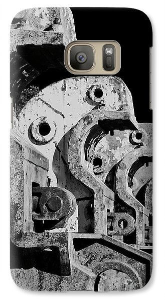 Galaxy Case featuring the photograph Beam Bender - Bw by Werner Padarin