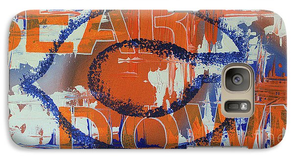 Galaxy Case featuring the painting Bear Down by Melissa Goodrich