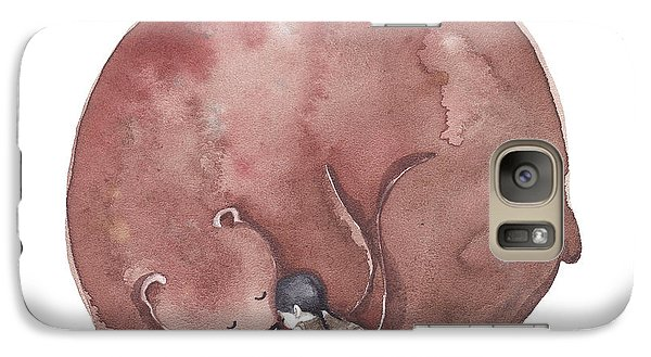 Bear Hug Galaxy Case by Soosh