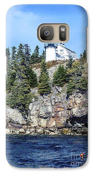 Bear Island Lighthouse Galaxy S7 Case