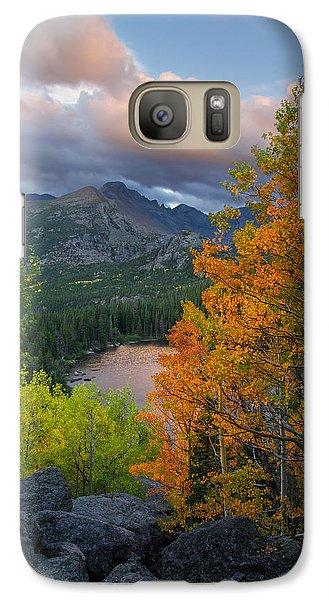 Bear Lake Autumn Galaxy S7 Case