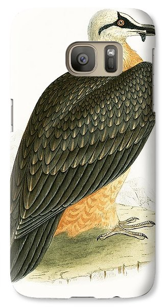 Bearded Vulture Galaxy S7 Case by English School