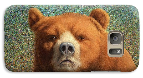 Bear Galaxy S7 Case - Bearish by James W Johnson
