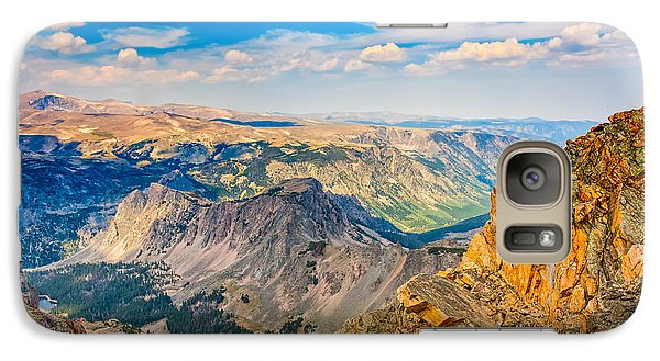 Galaxy Case featuring the photograph Beartooth Highway Scenic View by John M Bailey