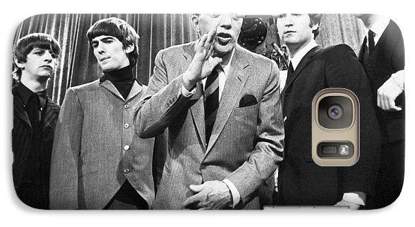 Beatles And Ed Sullivan Galaxy S7 Case
