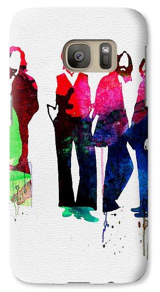 Musicians Galaxy S7 Case - Beatles Watercolor by Naxart Studio