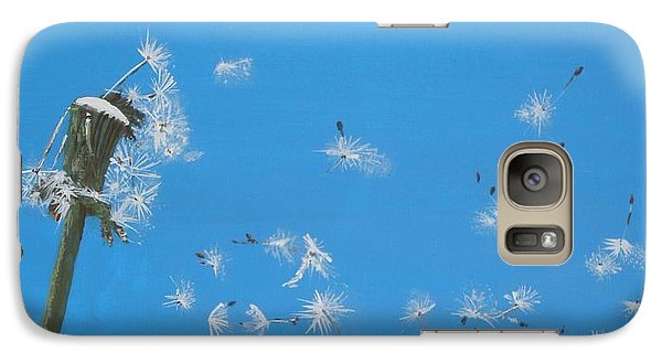 Galaxy Case featuring the painting Beautiful At This Moment.... by Betty-Anne McDonald