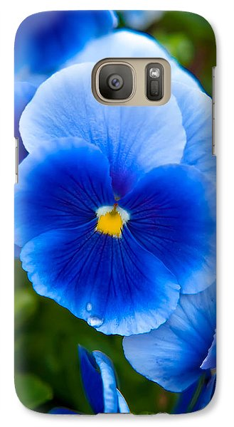 Colours Galaxy S7 Case - Beautiful Blues by Az Jackson