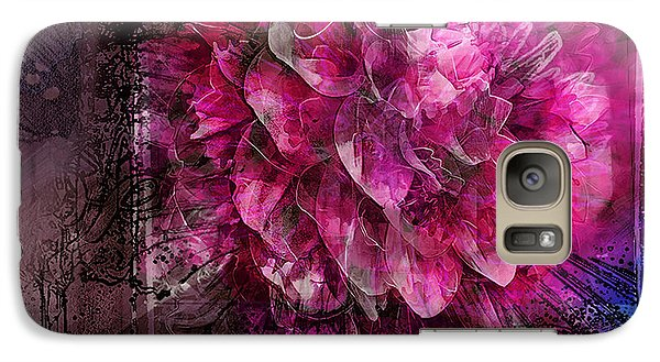 Galaxy Case featuring the digital art Beautiful Dahlia by Kari Nanstad