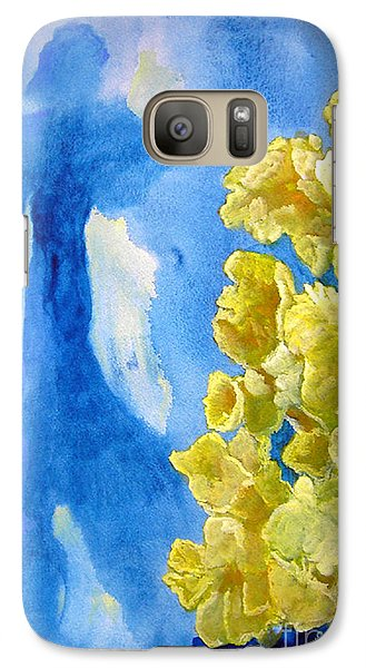 Galaxy Case featuring the painting Beautiful Dreamer by Sandy McIntire