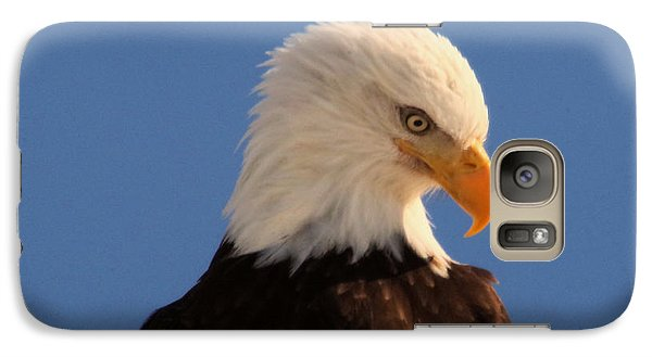 Galaxy Case featuring the photograph Beautiful Eagle by Jeff Swan