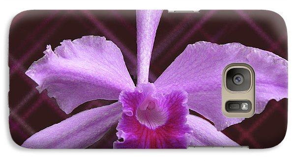 Galaxy Case featuring the photograph Beautiful Floating Orchid by Donna Brown