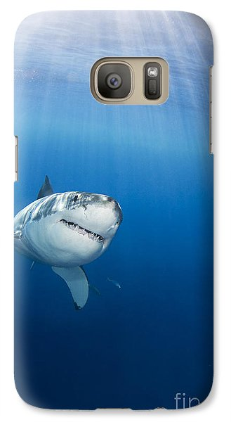 Beautiful Great White Galaxy Case by Dave Fleetham - Printscapes