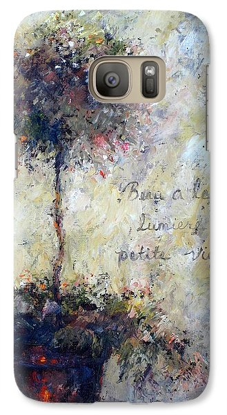 Galaxy Case featuring the painting Beautiful Is The Light by Bonnie Goedecke