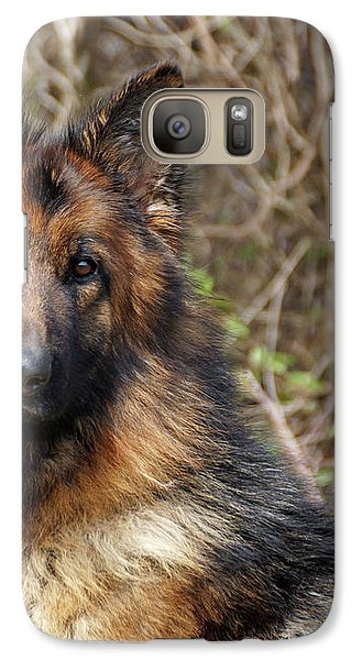 Galaxy Case featuring the photograph Beautiful Jessy by Sandy Keeton