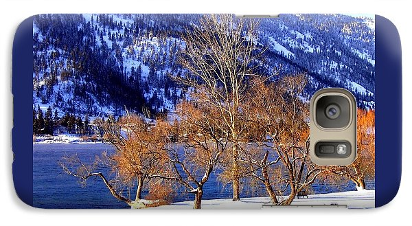 Galaxy Case featuring the photograph Beautiful Kaloya Park by Will Borden