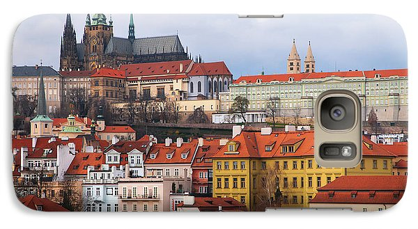 Galaxy Case featuring the photograph Beautiful Old Prague by Jenny Rainbow
