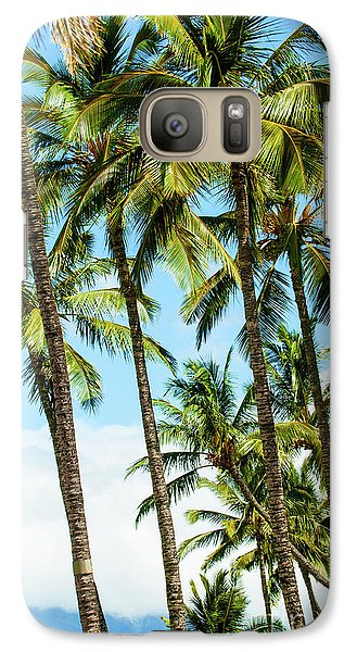 Galaxy Case featuring the photograph Beautiful Palms Of Maui 16 by Micah May