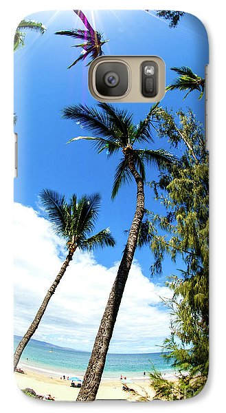 Galaxy Case featuring the photograph Beautiful Palms Of Maui 17 by Micah May