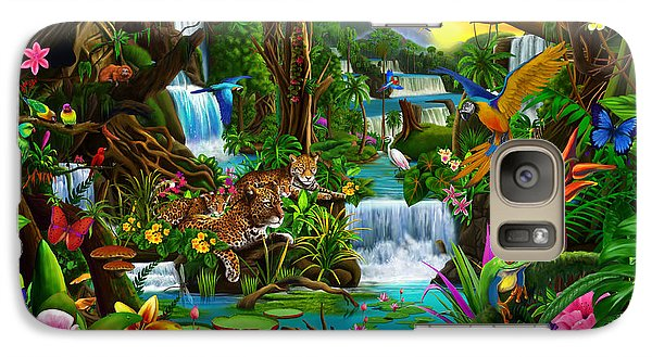 Toucan Galaxy S7 Case - Beautiful Rainforest by Gerald Newton