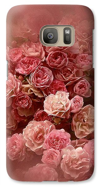 Galaxy Case featuring the photograph Beautiful Roses 2016 by Richard Cummings