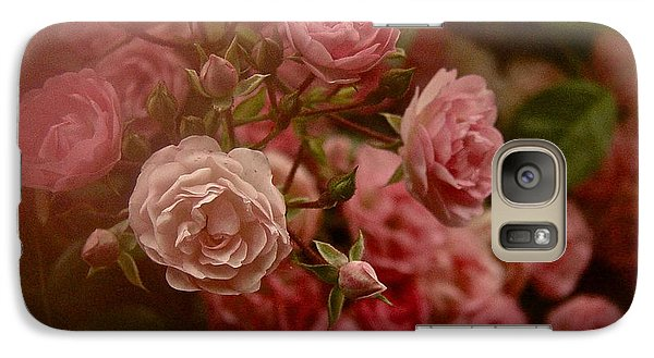 Galaxy Case featuring the photograph Beautiful Roses 2016 No. 2 by Richard Cummings