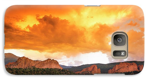 Galaxy Case featuring the photograph Beautiful Sunset by Tim Reaves