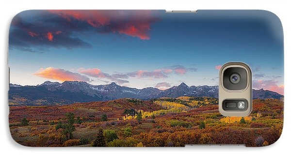 Galaxy Case featuring the photograph Beautiful Tints Of Autumn by Tim Reaves