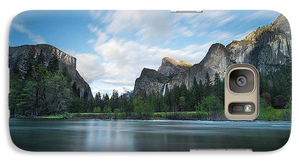 Yosemite National Park Galaxy S7 Case - Beautiful Yosemite by Larry Marshall