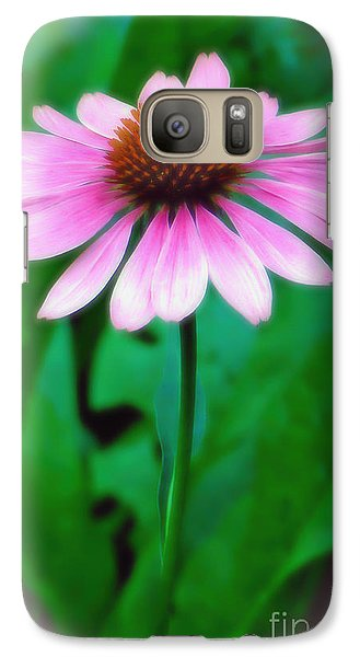 Galaxy Case featuring the photograph Beauty Among The Leaves by Sue Melvin
