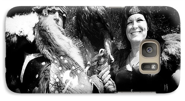 Galaxy Case featuring the photograph Beauty And The Beasts by Bob Christopher