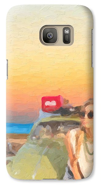 Galaxy Case featuring the digital art Beauty And The Beetle - Road Trip No.2 by Serge Averbukh