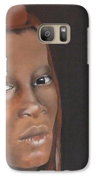 Galaxy Case featuring the painting Beauty by Annemeet Hasidi- van der Leij