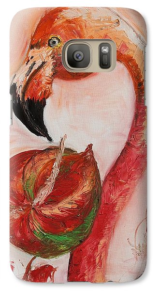 Galaxy Case featuring the painting Beauty Contest by Sladjana Lazarevic