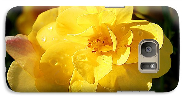 Galaxy Case featuring the photograph Beauty In Yellow by Milena Ilieva