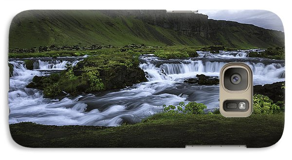 Galaxy Case featuring the photograph Beauty Is Everywhere In Iceland by Nancy Dempsey