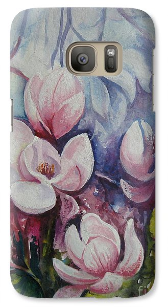 Galaxy Case featuring the painting Beauty Of Spring by Elena Oleniuc