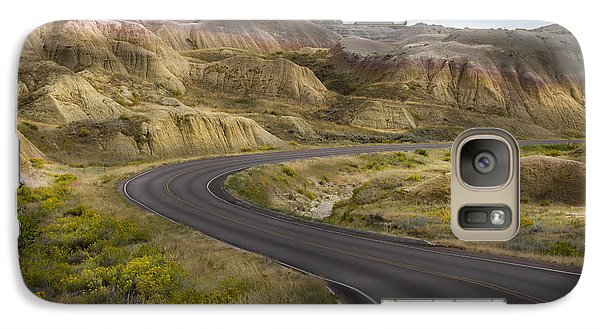 Galaxy Case featuring the photograph Beauty Of The Badlands South Dakota by John Hix