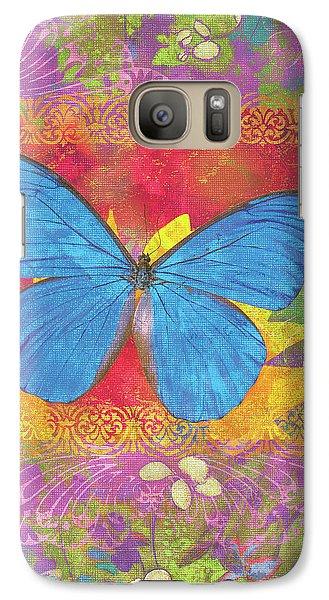 Beauty Queen Butterfly Galaxy S7 Case