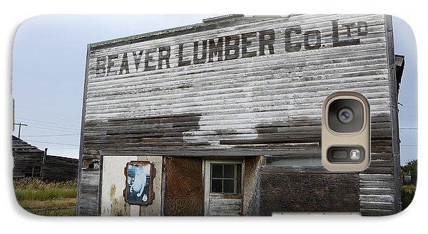 Beaver Lumber Company Ltd Robsart Galaxy S7 Case by Bob Christopher