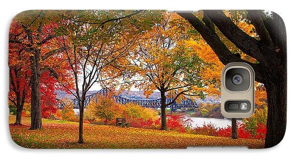 Beaver Galaxy S7 Case - Beaver Park by Emmanuel Panagiotakis