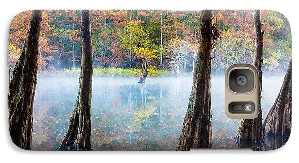 Beaver Galaxy S7 Case - Beavers Bend Cypress Grove by Inge Johnsson