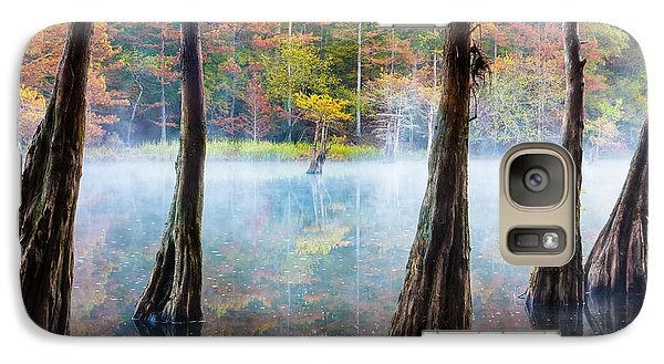 Beavers Bend Cypress Grove Galaxy S7 Case by Inge Johnsson