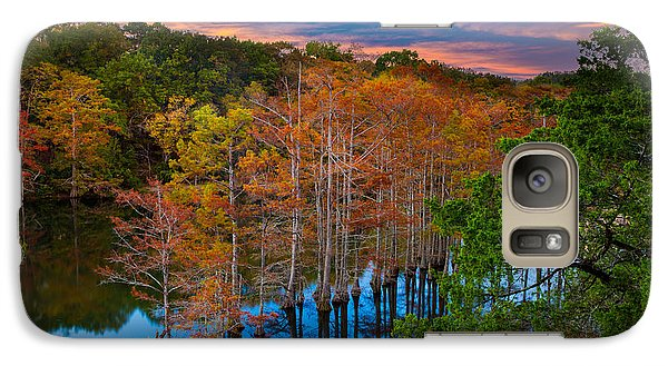 Beaver Galaxy S7 Case - Beavers Bend Twilight by Inge Johnsson