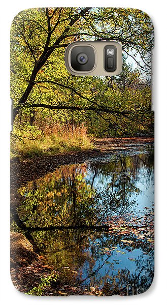 Galaxy Case featuring the photograph Beaver's Pond by Iris Greenwell