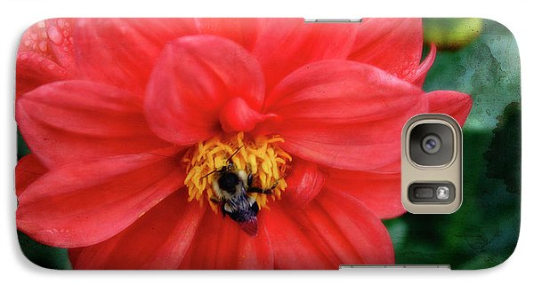 Galaxy Case featuring the photograph Bee-utiful by Joan Bertucci