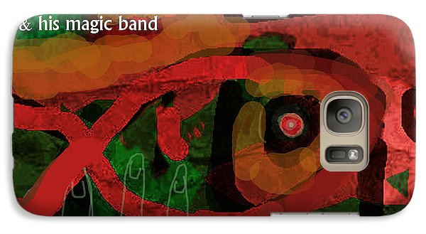 Def Leppard Galaxy S7 Case - Beefheart Album Cover by Enki Art